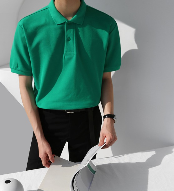 Door collar tee (10color)
