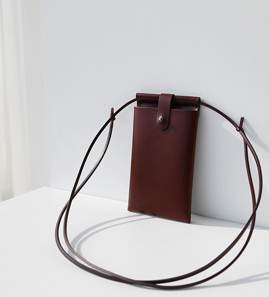 Mini leather bag (3color)