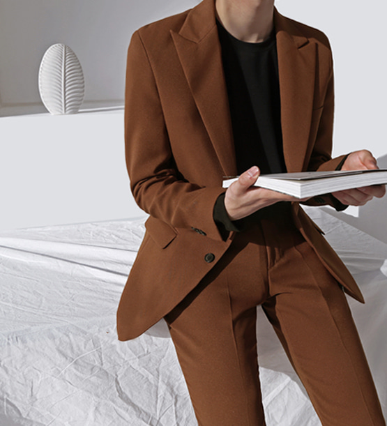 Anderson single brown suit (1color)