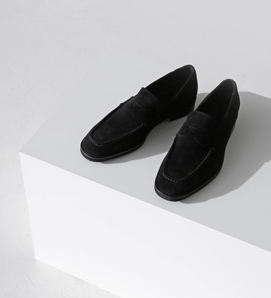 Touch Handmade Suede loafer (3color)