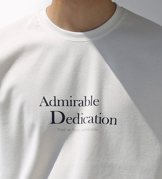 Able printing tee (4color)
