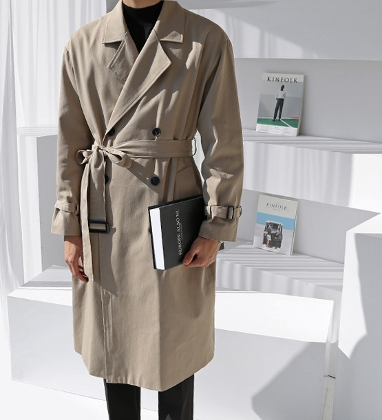 Mite trench coat (5color)